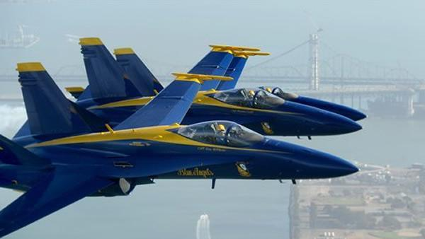 Blue Angels will not perform at 2013 Fleet Week