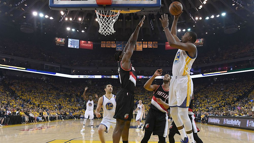 NBA playoffs 2017: Kevin Durant, Shaun Livingston questionable for Game 2 vs. Trail Blazers