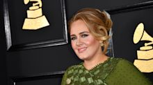 Adele shares behind the scenes snap as she prepares to host 'Saturday Night Live'