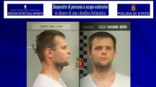 UK police arrest man over model kidnapped in Italy