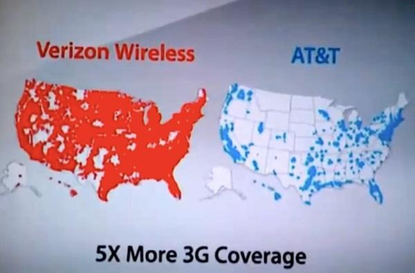 Verizon removes gloves, begins 'There's a map for that' anti-AT&T ad campaign (video)
