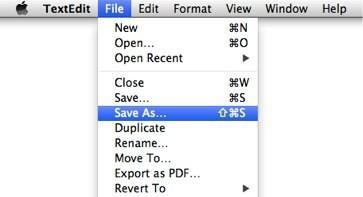 Get Save As back on Mountain Lion's File menu easily and without hacks