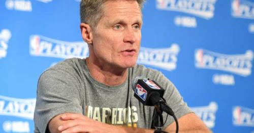 Basket - NBA - Steve Kerr (Golden State) favorable à une visite à la Maison-Blanche