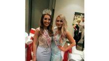 Ao cobrir concurso de miss, jornalista acaba levando a coroa