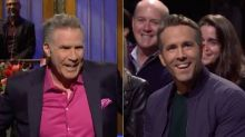Will Ferrell Loses It With Ryan Reynolds In 'SNL' Audience