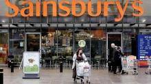 Sainsbury's boosted by Argos festive profits but food sales go stale