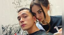 Kylie Versoza and Jake Cuenca send meals to medical frontliners