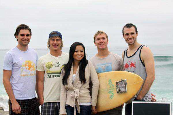 Researchers use sensors to find the perfect surfboard, Gidget still looking for that perfect bikini (video)