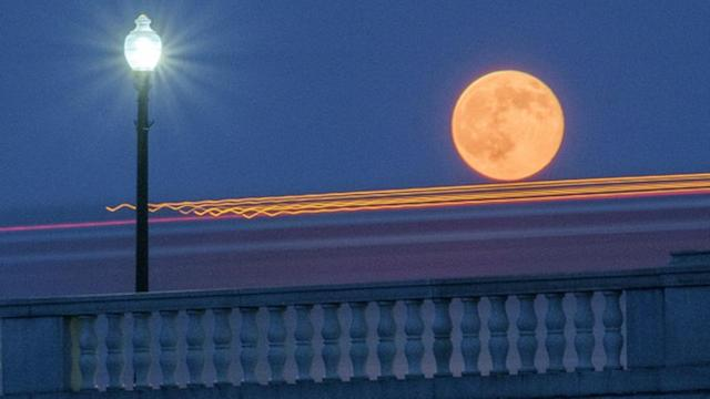 First of 3 summer supermoons