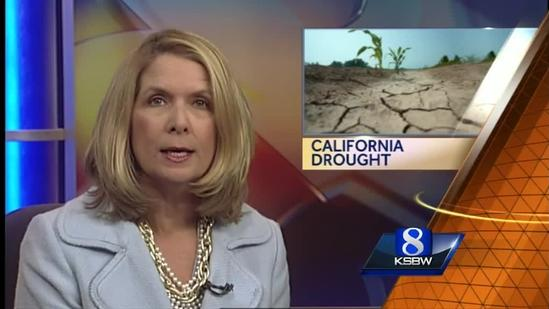 Big changes in California because of drought