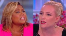 On 'The View,' Meghan McCain defended Trump voters to the point of exhaustion: 'I literally can't'