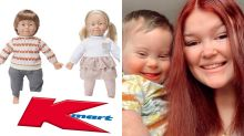 Kmart's inclusive dolls with Down Syndrome a huge hit