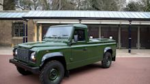 Prince Philip's custom-made Land Rover hearse unveiled for first time