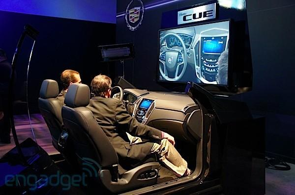Cadillac unveils CUE infotainment system for connected driving excitement in 2012 (video)