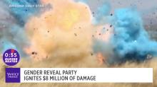 Gender reveal party ignites $8 million worth of damage