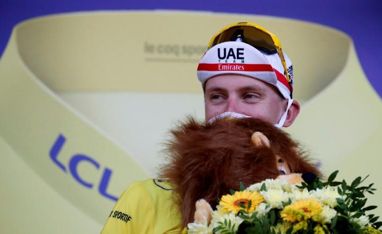 Slovenia's Tadej Pogacar took the lead on stage 20 and is the youngest post-war Tour de France winner