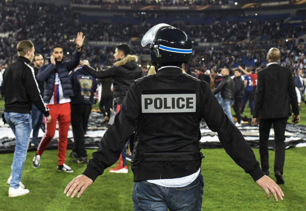 OL-Besiktas: 12 interpellations et 7 blessés après les incidents