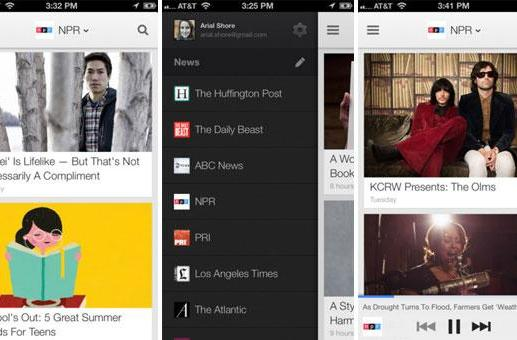 Google Currents for iOS updated with audio playlists and vertical article pagination