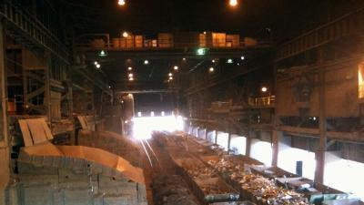 News 8 Tours Steel Mill That Built Beams For Twin Towers