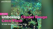Unboxing Chanel Rouge Coco Flash 12 new lipstick shades