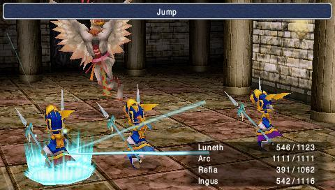 Final Fantasy 3 coming to PSP Tuesday