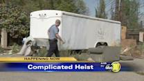 Stolen Clovis church trailer recovered in Fresno County