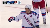 Brad Richards roofs one on two-man advantage