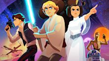 'Star Wars Galaxy Of Adventures' Trailer Reveals New-Look Animation With Old-School Sounds