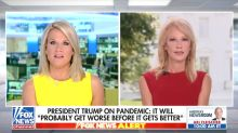 Fox News Host Confronts Kellyanne Conway on Trump's Sudden Mask Embrace