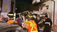 Vehicle crashes into north Edmonton home