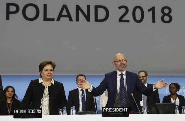 Governments reach deal to implement Paris climate change agreement