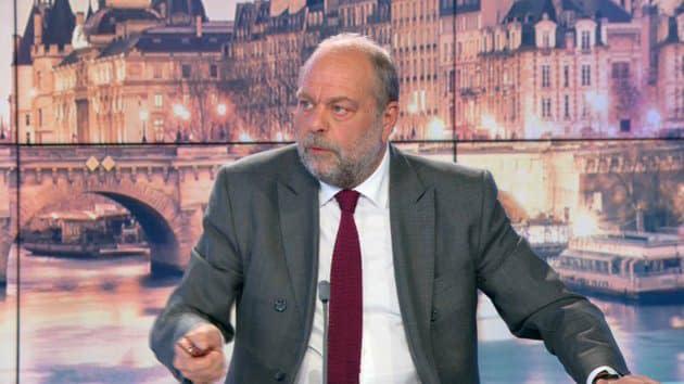 """Enquête contre le RN: pour Éric Dupond-Moretti, """"Marine Le Pen utilise et instrumentalise cette procédure"""""""
