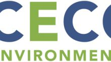 CECO Environmental Corp. Reports Third Quarter 2019 Results