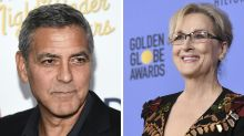 "George Clooney Supports Meryl Streep's Golden Globes Speech As He Fetes ""The White Helmets"" In London"
