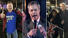 The night Nigel Farage and his devotees lived their Brexit dream