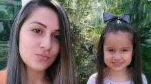 Mulher que viralizou com barriga pintada na gravidez perde a filha de 4 anos: 'Perdi minha vida'