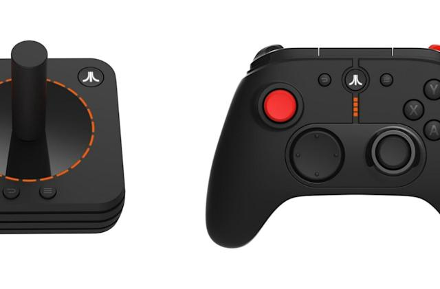 Atari shows off joystick and controller for its retro VCS console