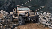 Jeep Gladiator Gets Even More Rugged as a Military-Spec Vehicle