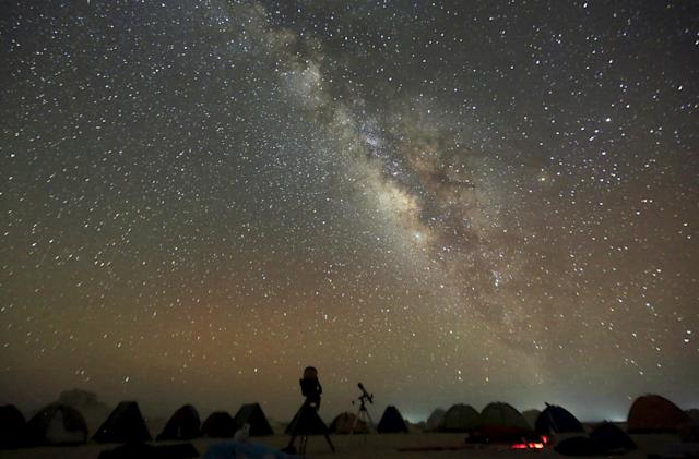 Astronomers more accurately calculate the Milky Way's mass