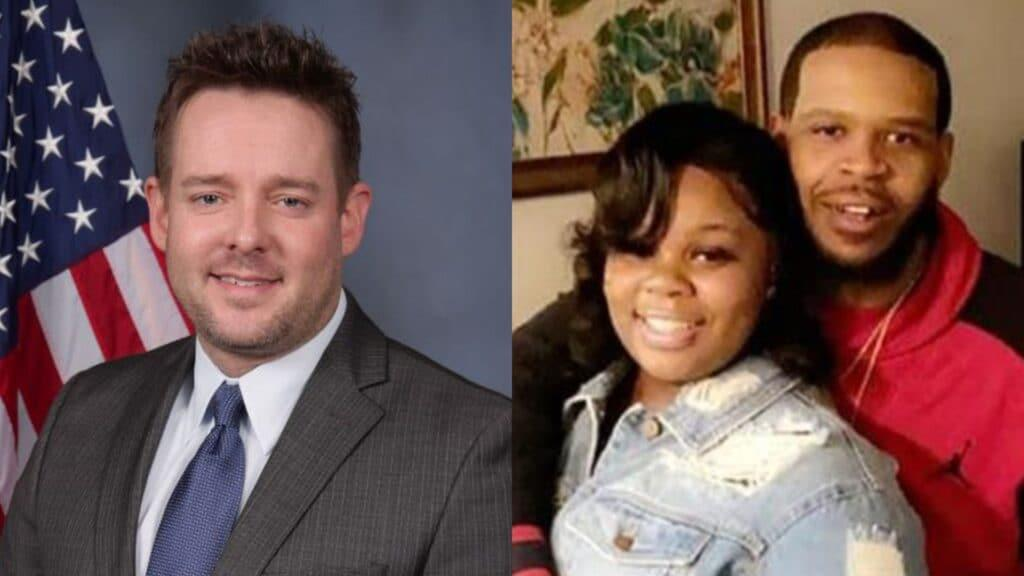 Louisville officer sues Breonna Taylor's boyfriend for emotional distress, assault and battery