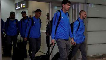 En silencio y con un mensaje en las redes sociales, Boca regresó a la Argentina