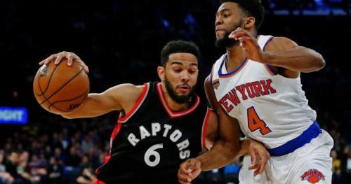 Basket - NBA - Les Toronto Raptors gagnent face aux Knicks de New-York