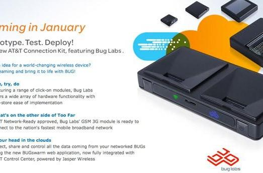 AT&T Connection Kit marries Bug Labs with 3G, whatever crazy gizmo you dream up