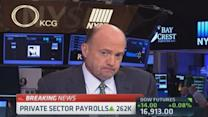 Cramer: 'Superb' jobs number great for stocks
