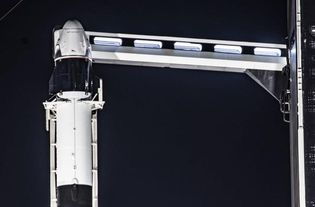 The first crewed SpaceX flight could happen around May 7th