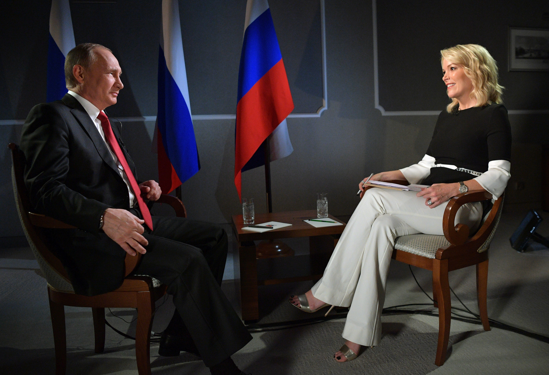 Интервью Путина Американской журналистке фото