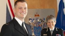 'Britain's hardest cop' receives top Met Police award after machete attack during traffic stop