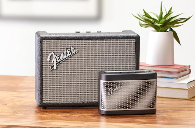Fender's Bluetooth speakers look just as you'd imagine