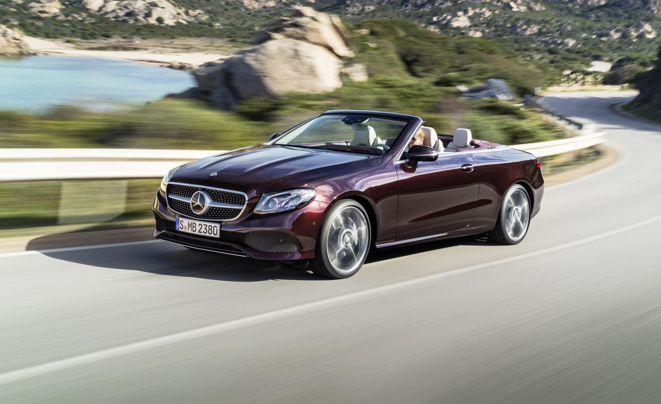 2018 mercedes benz e class cabriolet revealed gains elegance space and style. Black Bedroom Furniture Sets. Home Design Ideas