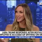 Lara Trump speaks out on restaurant worker spitting on her husband